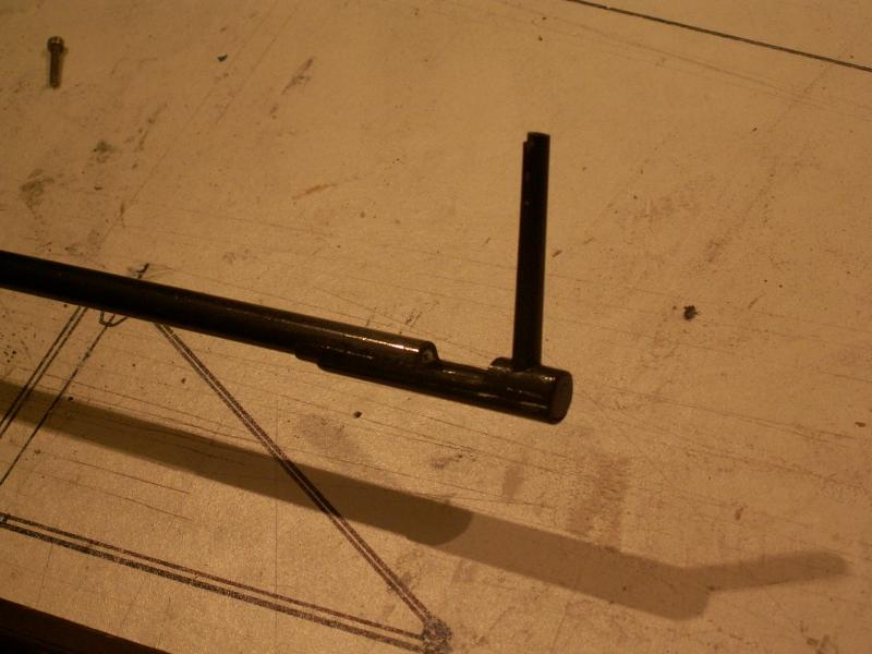Tête de mat avec hook intégré